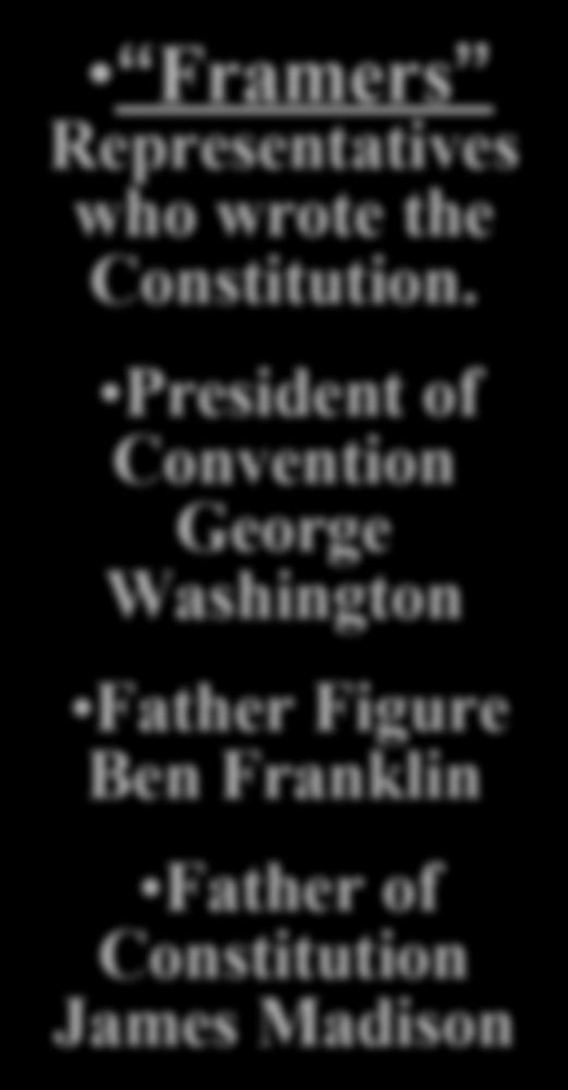 President of Convention George