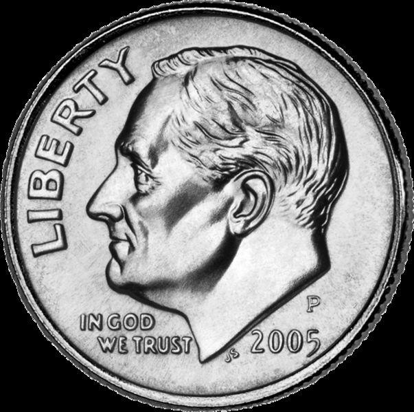 Soon after the death of FDR in 1945, legislation was introduced that called for the replacement of the Mercury dime with one bearing Roosevelt's